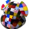 Elmer en galets