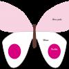 Gabarit gâteau papillon