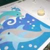 Un tableau en cours de création