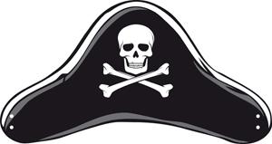 Chapeau et bandeau cache oeil de pirate le club du king - Fabriquer un chapeau de pirate ...